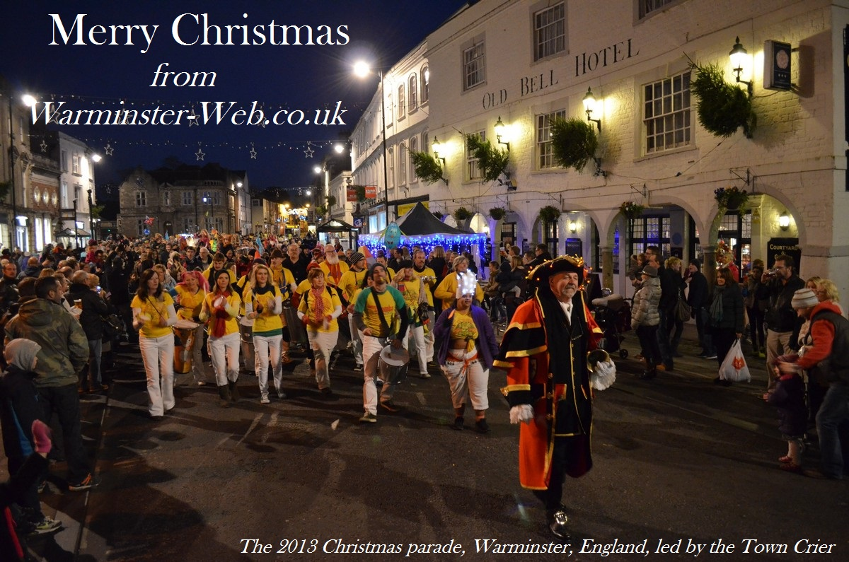 Christmas Card from Warminster England from Warminster Web